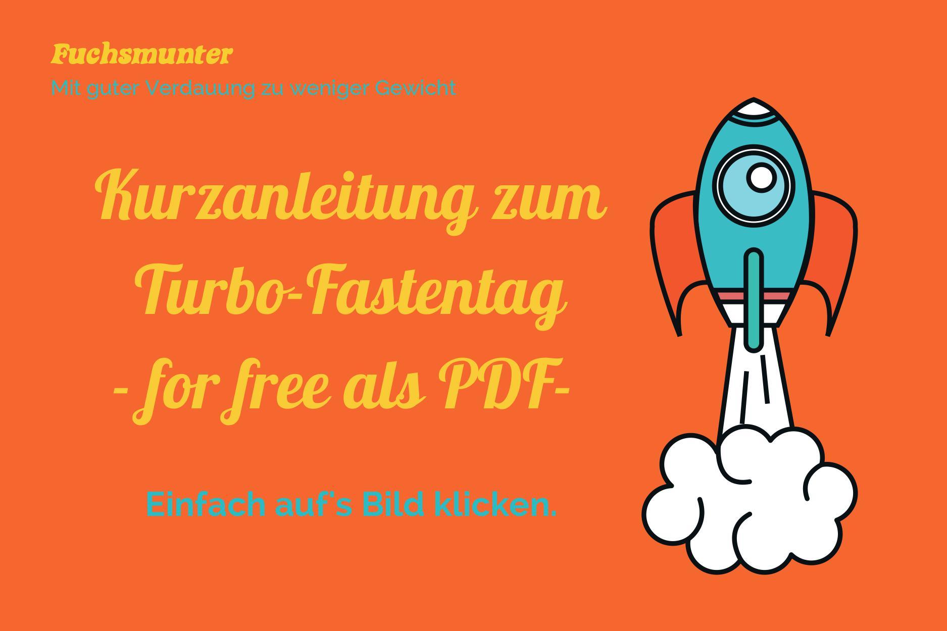 Kurzanleitung zum Turbo-Fastentag