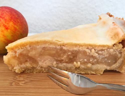 Low Carb Apfelkuchen mit Irmhilds Äpfeln