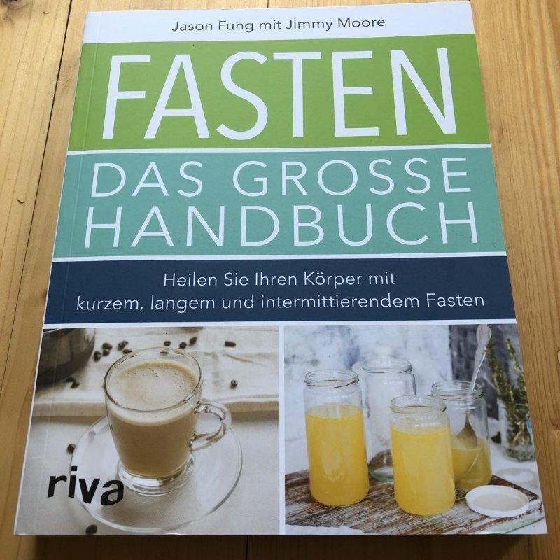 Fasten das grosse handbuch Jason Fung Jimmy Moore Riva Verlag meine besten 5 Buchempfehlungen Sonja Fuchs Fuchsmunter