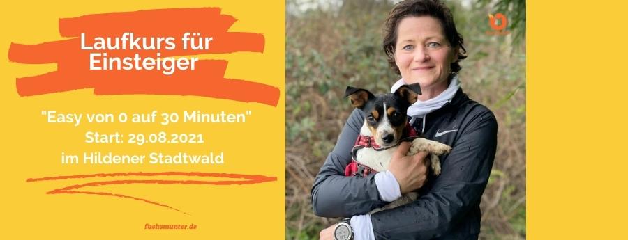Sonja Fuchs alias Fuchsmunter mit der kleinen Rennsemmel Milly