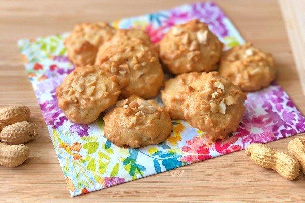 Low Carb Erdnusbutter-Kekse