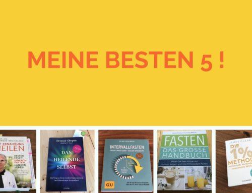 Meine 5 besten Buchempfehlungen für dein Wohlbefinden!