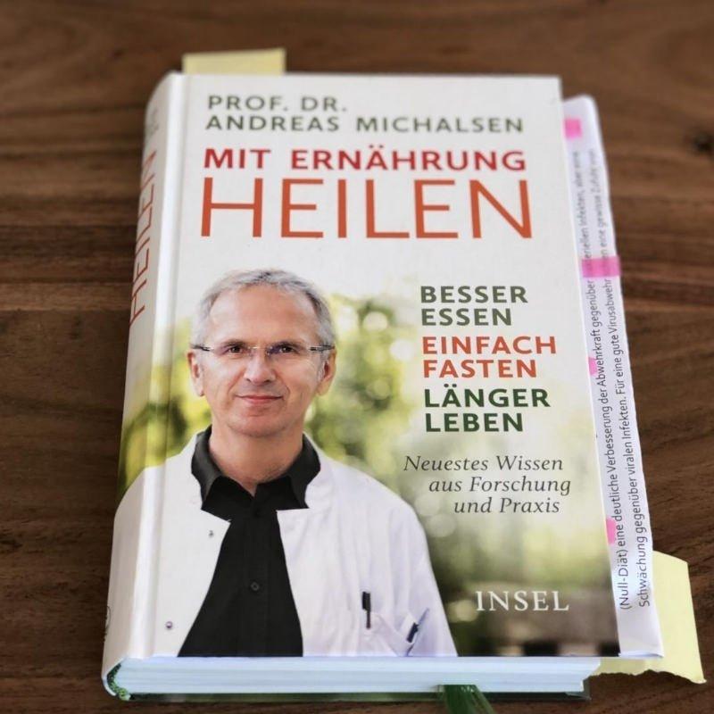 Mit Ernährung Heilen Prof Dr Andreas Michalsen Insel Verlag meine besten 5 Buchempfehlungen Sonja Fuchs Fuchsmunter
