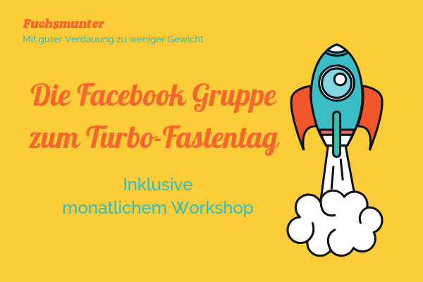 Titelbild Facebook Gruppe zum Turbo-Fastentag